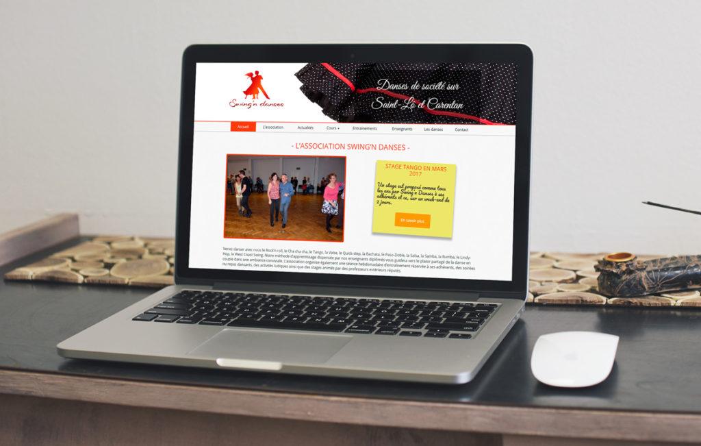 Création du site internet pour une association de la Manche