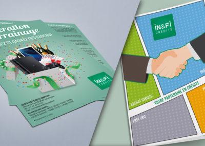 Flyer et Pochette In&Fi