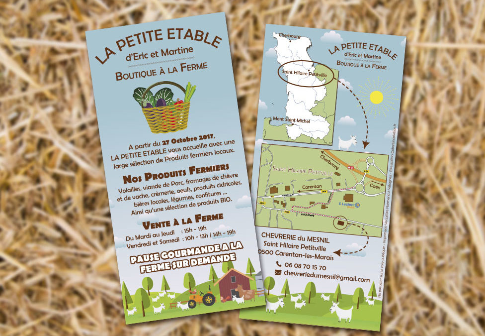 Flyer «La Petite Etable»