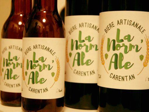 Etiquette «La Norm'Ale»