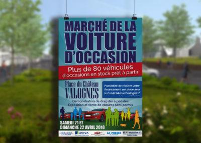 Marché de la voiture d'occasion – Valognes
