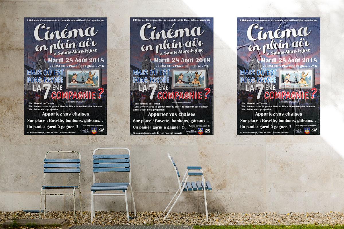 Création d'une affiche pour un événementiel dans le Cotentin