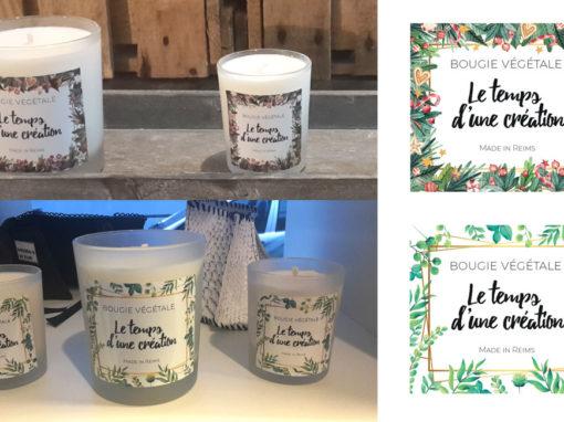 Étiquettes de bougies