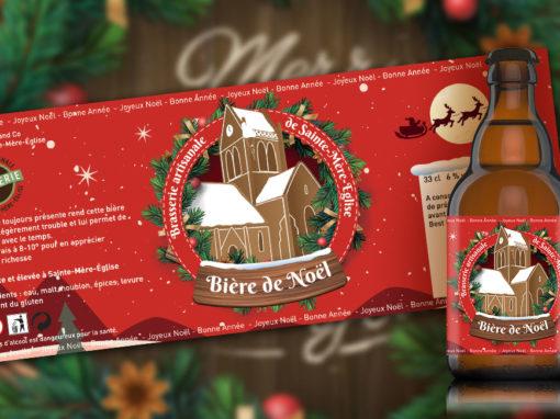 Étiquette «Bière de Noël»