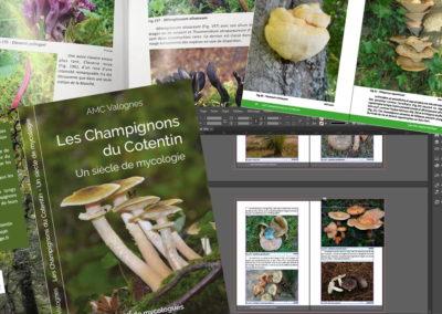 Livre Association Mycologique du Cotentin