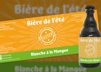 Étiquette «Bière de l'été»